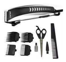 Maquina peluquera motilar + 4 peines guias + tijera