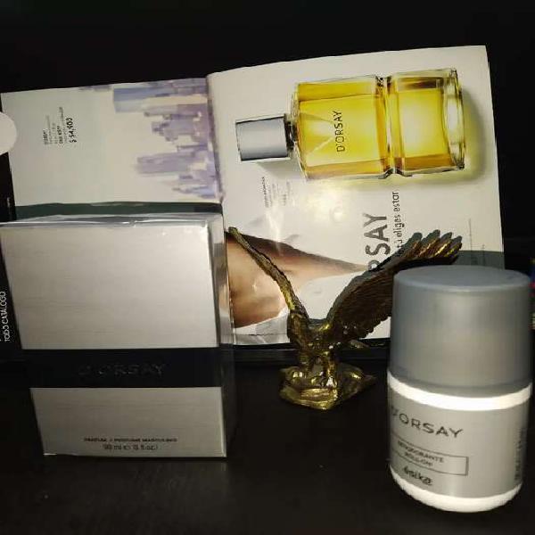 Perfume d'orsay más desodorante