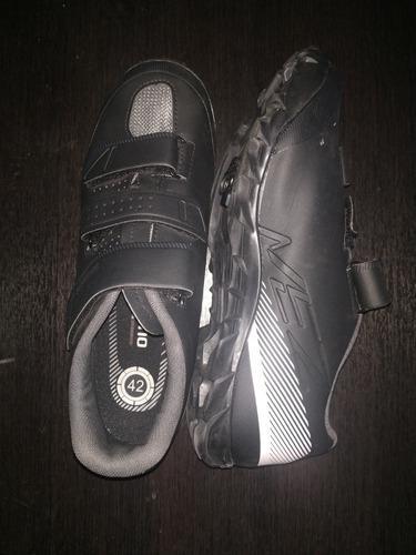 Zapatillas ciclismo shimano me2 montaña, zapatos-chocles