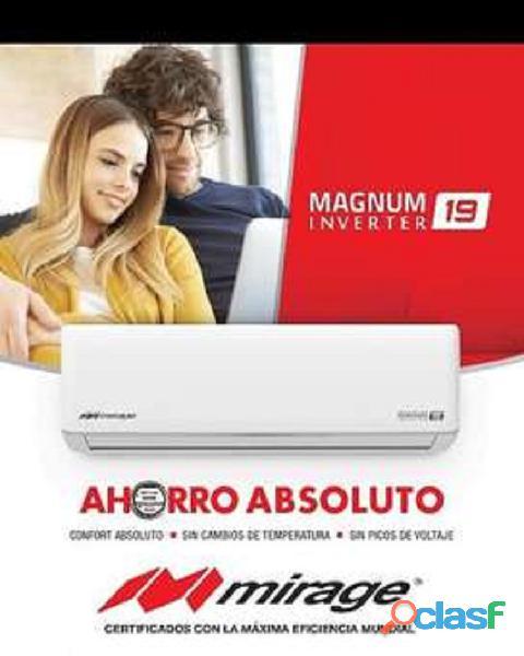 AIRE ACONDICIONADO MIRAGE LIFE+ ON OFF DE 12.000 BTU 110V 6