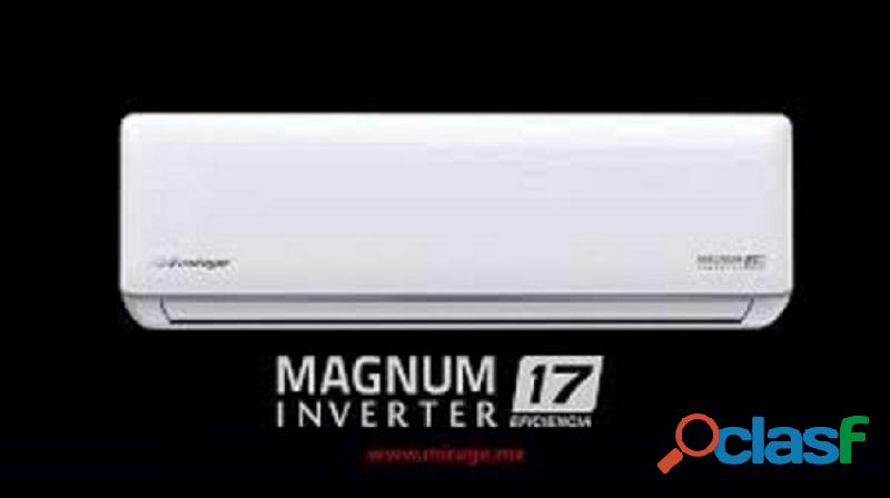 AIRE ACONDICIONADO MIRAGE MAGNUN 17 INVERTER DE 12.000 BTU 110V 3