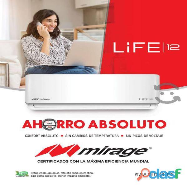 AIRE ACONDICIONADO MIRAGE MAGNUN 17 INVERTER DE 12.000 BTU 110V 2