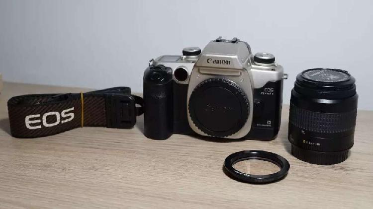 Canon elan iie análoga/digital en excelente estado,