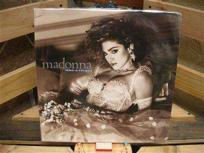 Long play lp disco acetato pasta vinilo vinyl madonna like a