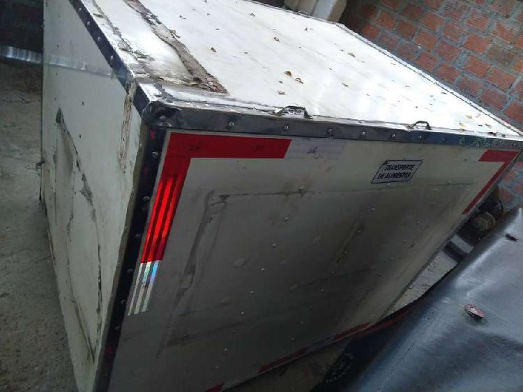 Se vende furgon para moto carguero gangazo