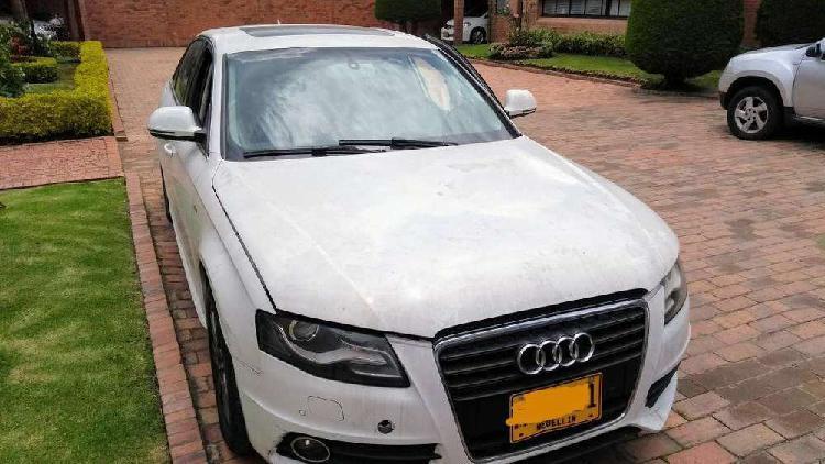 Audi a4 2009 turbo(salvamento)