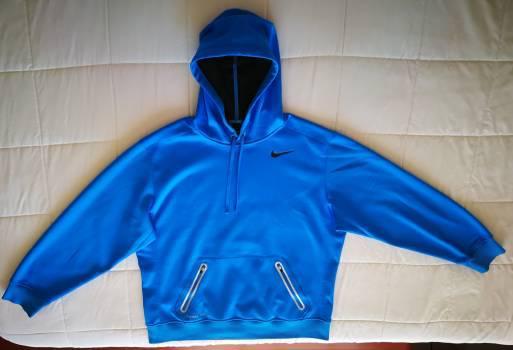 Buzo nike azul con capucha xl (hoodie)