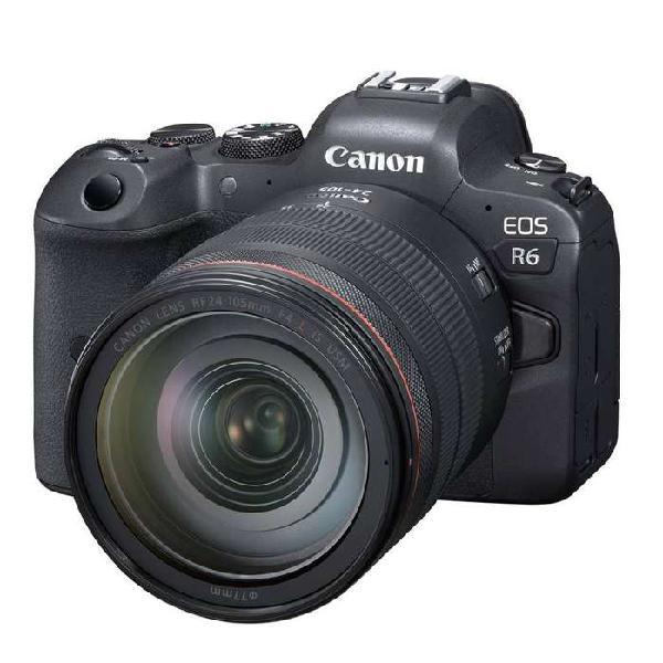 Canon eos r6 con lente 24-105mm
