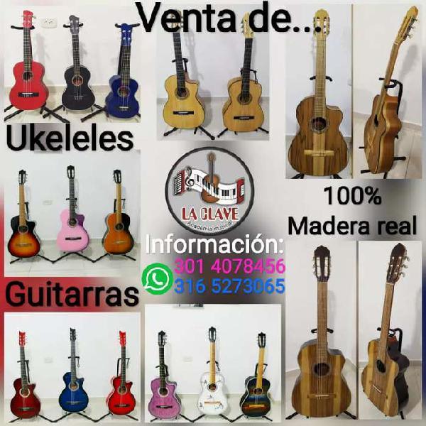 Guitarras en cedro