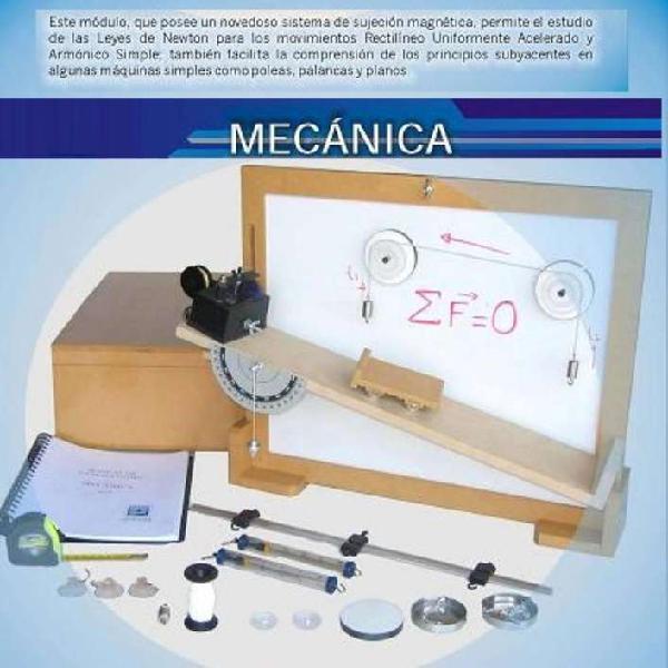 Instrumentacion y montaje para laboratorio de fisica