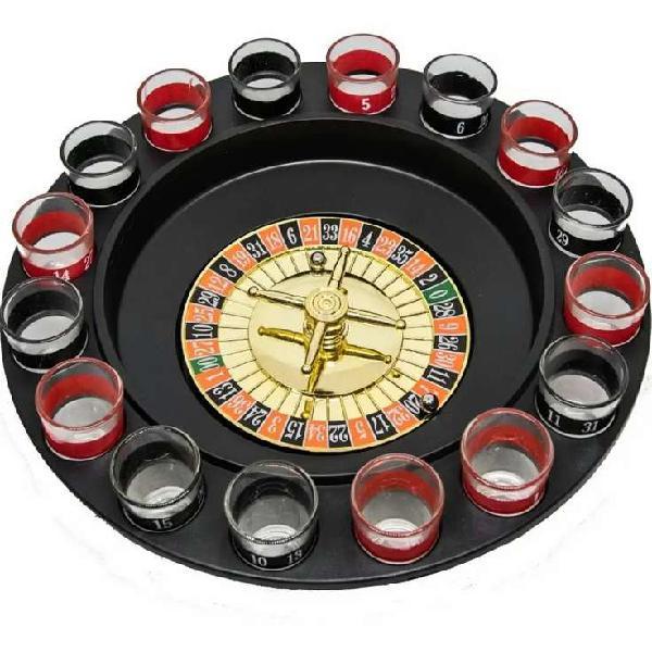 Juego de mesa ruleta 16 copas