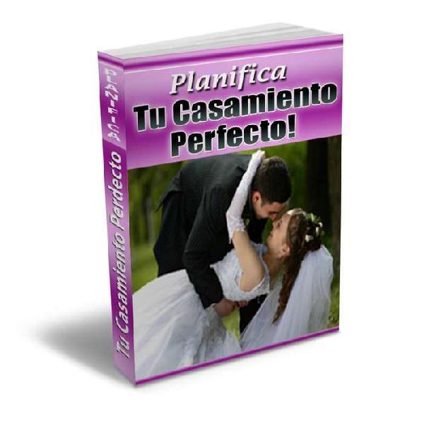 Planifica tu matrimonio