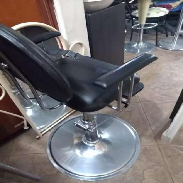 Silla peluquería hidráulica