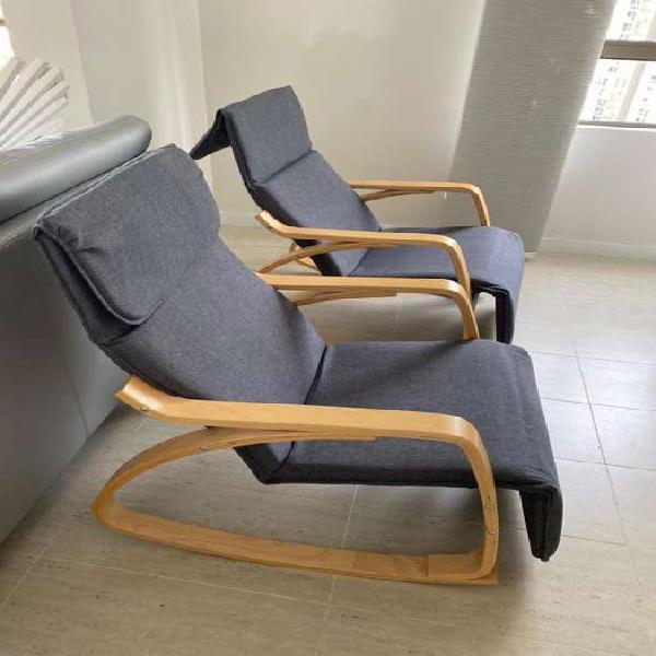 Venta sillas mecedoras de ambiente gourmet