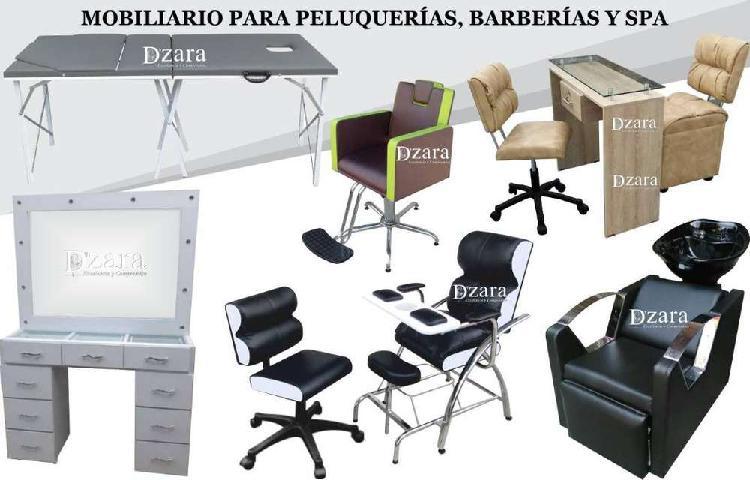 24 finas silla para corte, recepción, sala de espera para