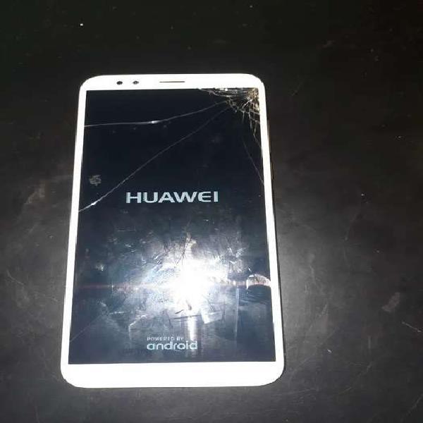 Huawei y7 2018 pantalla rota pero funcional