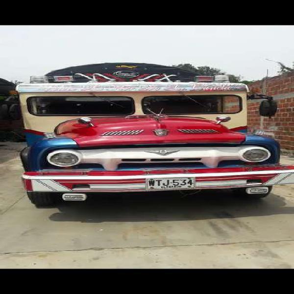 Mixta camión estacas modelo 1954 publica