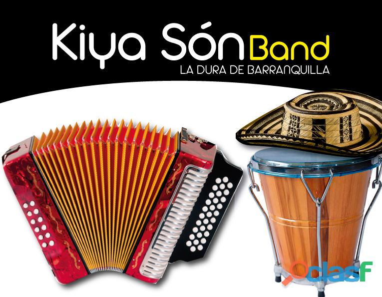 Grupo vallenato kiya son band en barranquilla cel 304 3496933