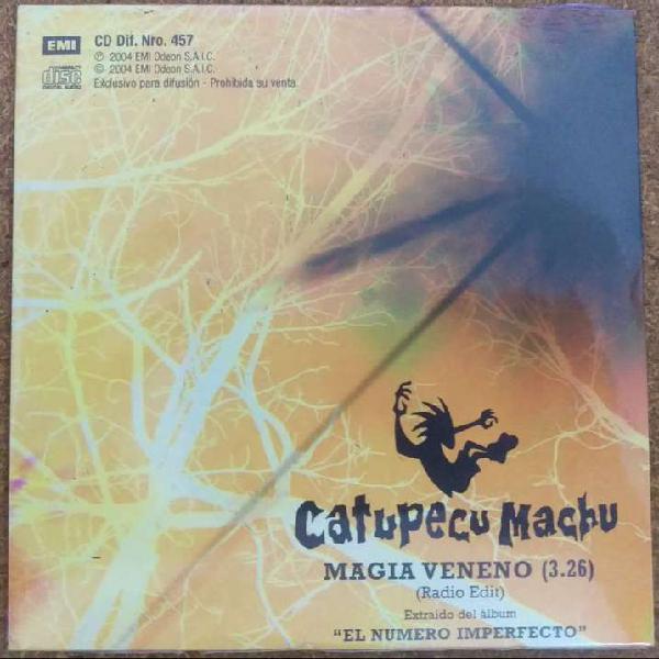 Cd single catupecu machu