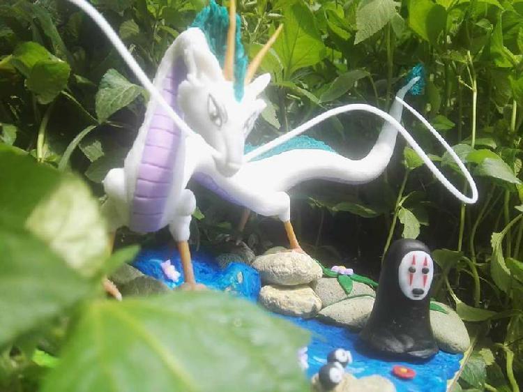 Figuras de porcelanicron personalzadas dragon viaje de