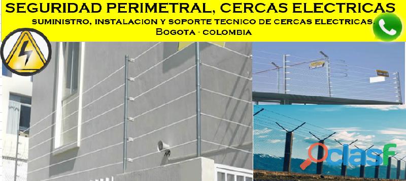 Cercas eléctricas Bogotá, seguridad perimetral Bogotá, cercas eléctricas Bogotá, asesorías