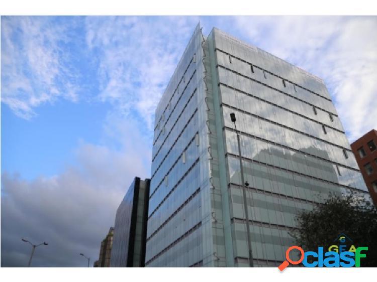 Arriendo oficina en edificio portos 100 piso cuarto