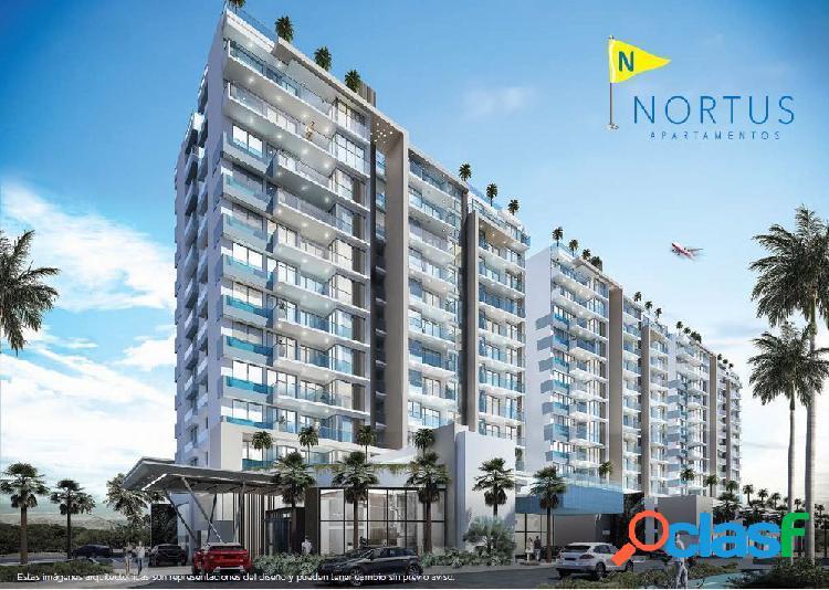 Nortus apartamentos, proyecto en venta en cielo mar, cartagena