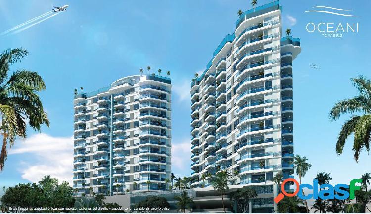 Oceani towers, apartamentos en venta en cielo mar, cartagena
