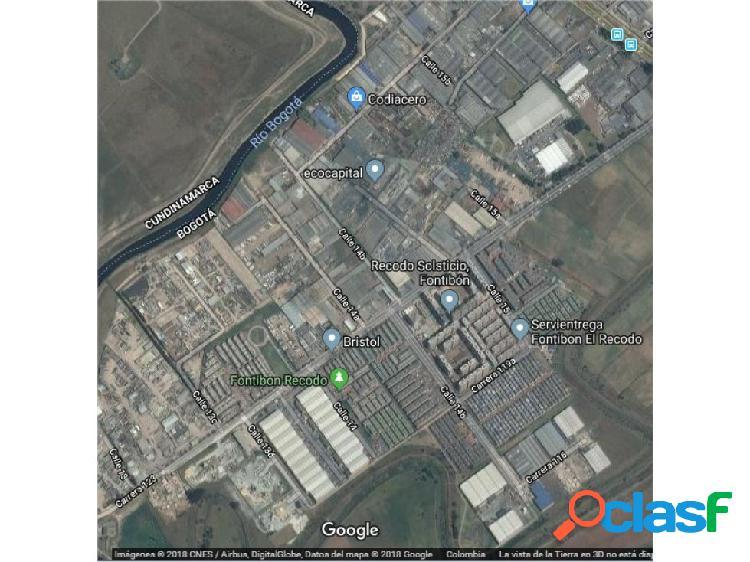 Lote fontibon 2640 m2 arriendo- industrial