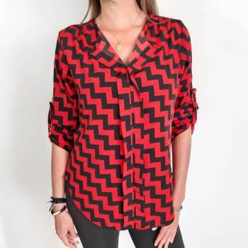 Camisa en seda talla S
