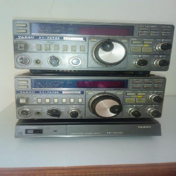 VENDO RADIO TRANSMISORES FT757 GS Yaesu