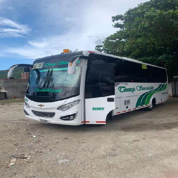 Buseton nqr 36 pasajeros full equipos