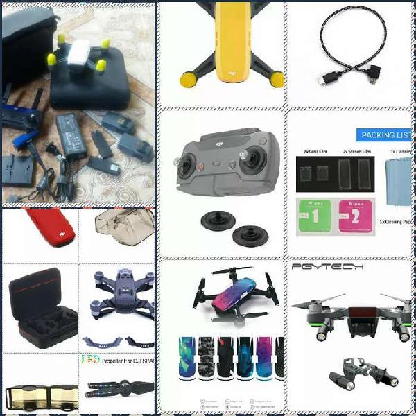 Drone dji spark ( con accesorios nuevos)