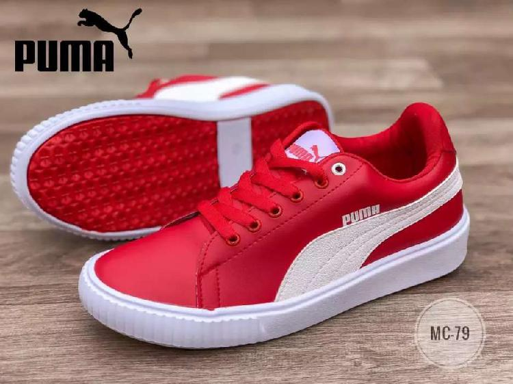 Tenis puma rojo ref 210620