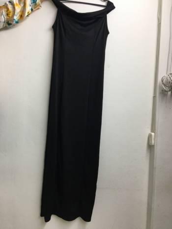 Vestido negro nuevo largo
