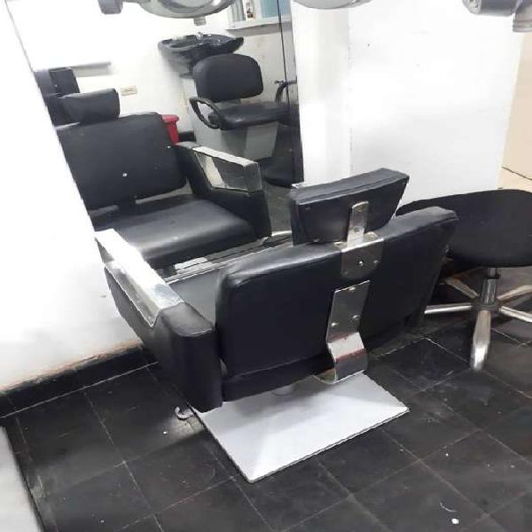 Remato muebles de peluqueria sillas lavacabezas