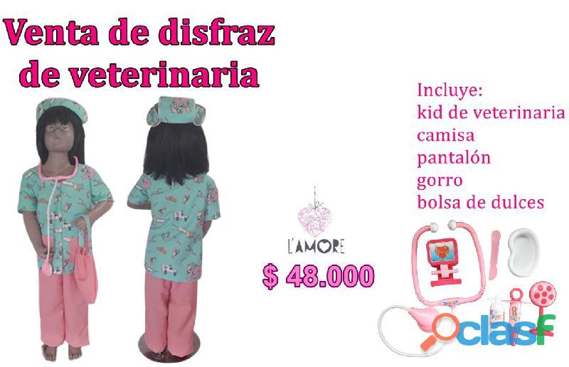Venta de disfraz de veterinaria para niñas