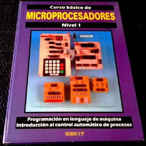 Curso cekit de microprocesadores y controles industriales.