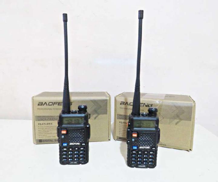 Radiotelefonos profesionales baofeng uv5r digitales