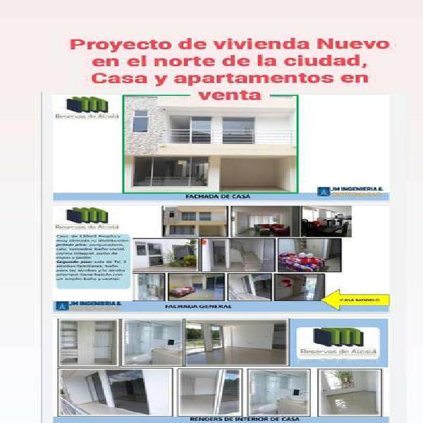 Venta apartamento y casa proyecto nueva