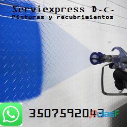 Servicio de pintura y recubrimientos en Bogota 3507592043