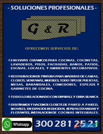 Oficial de servicios G & R