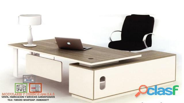 Venta y fabricación de escritorios
