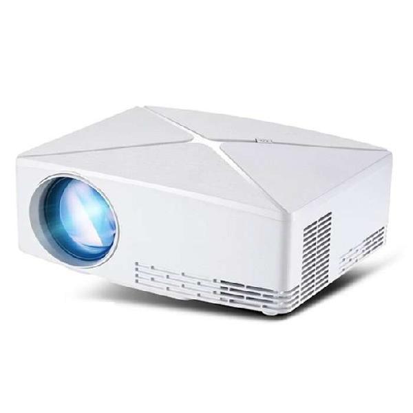 Proyector led full hd 2200 lumens 2 usb hdmi vga rca altavoz