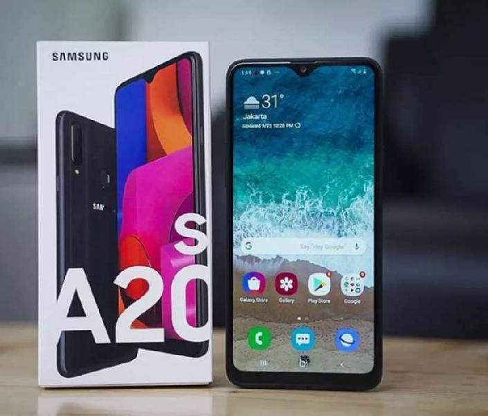 Samsung galaxy a20s nuevo 32gb internas lector de huellas 1