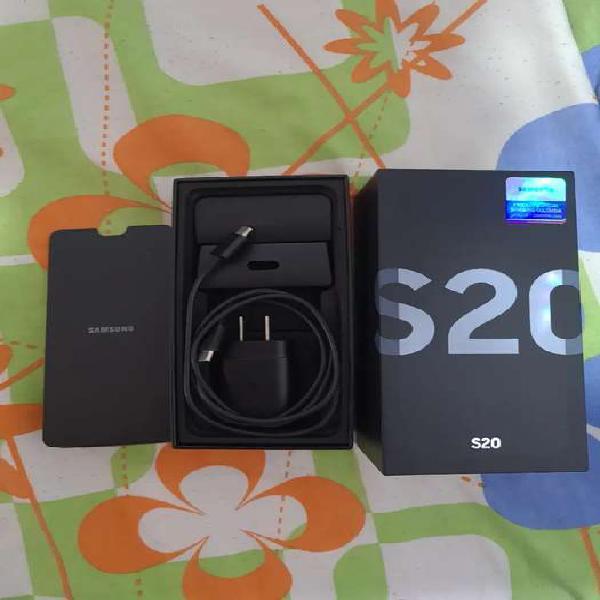 Samsung galaxy s20 azul como nuevo