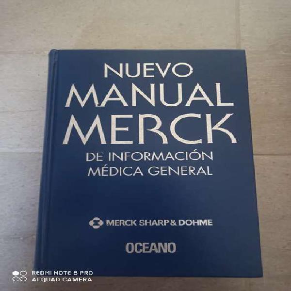 Libro nuevo manual merck de información medica general