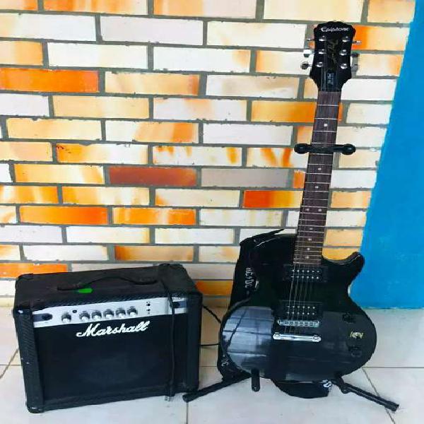Se vende guitarra eléctrica epiphone les paul special ii +