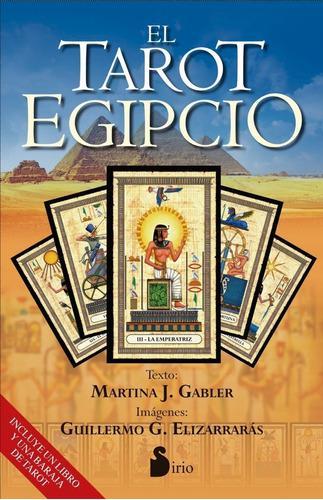 Tarot egipcio profesional - 78 cartas y libro (original)