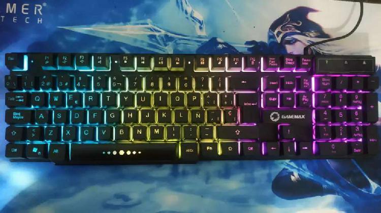 Vendo mouse havit y teclado gamer retroiluminado